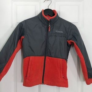 Kids' Columbia fleece jacket sz S/8